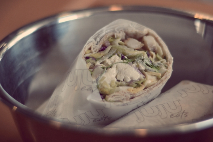 Inasal Salad Wrap