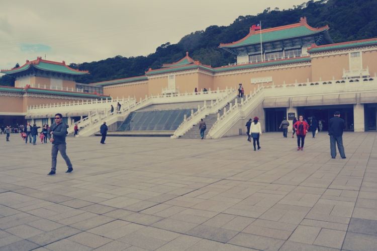 national palace museum grounds
