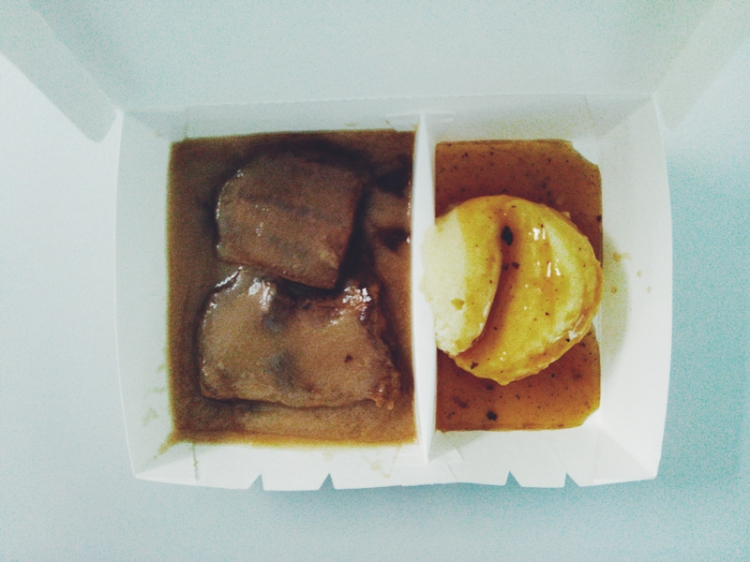 Roast Beef with Gravy; Mashed Potato (PHP 80)