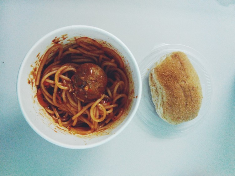 Spaghetti with Meatball (PHP 30)