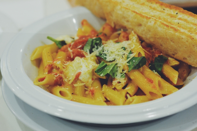 Penne Al Telefono (Solo PHP 355 / Family PHP 630)