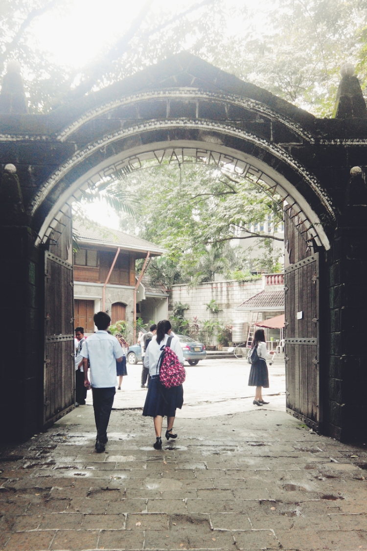 The arch entrance to Museo Valenzuela, which used to be the house of Dr. Pio Valenzuela but now a museum showing the life and a few memorabilia of the patriot.