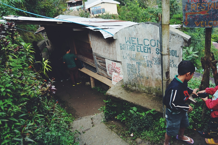 Batad Elementary School provides basic education to young villagers.