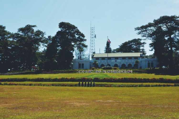 The Mansion House serves as the president's summer residence in the Cordilleras.