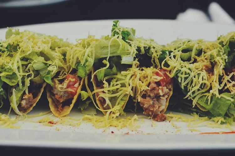 Mini Sisig Tacos (PHP 225)