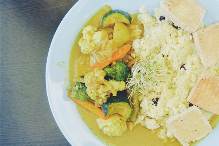 Vegetable Curry (PHP 195)